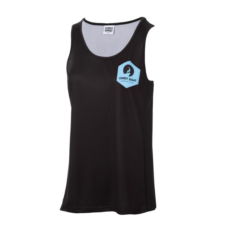 LGRC Ladies Vest Front Blue
