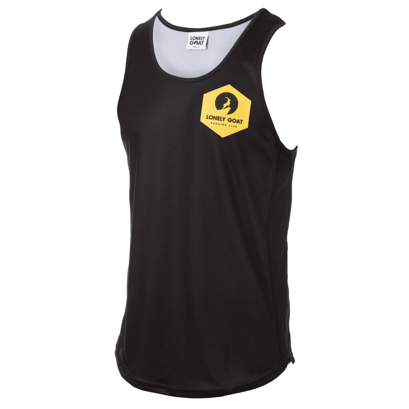LGRC Mens Vest Yellow Front