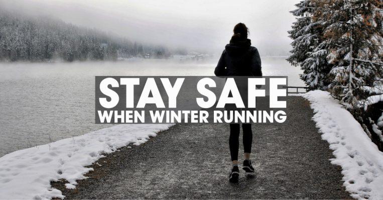 Stay safe when winter running header image