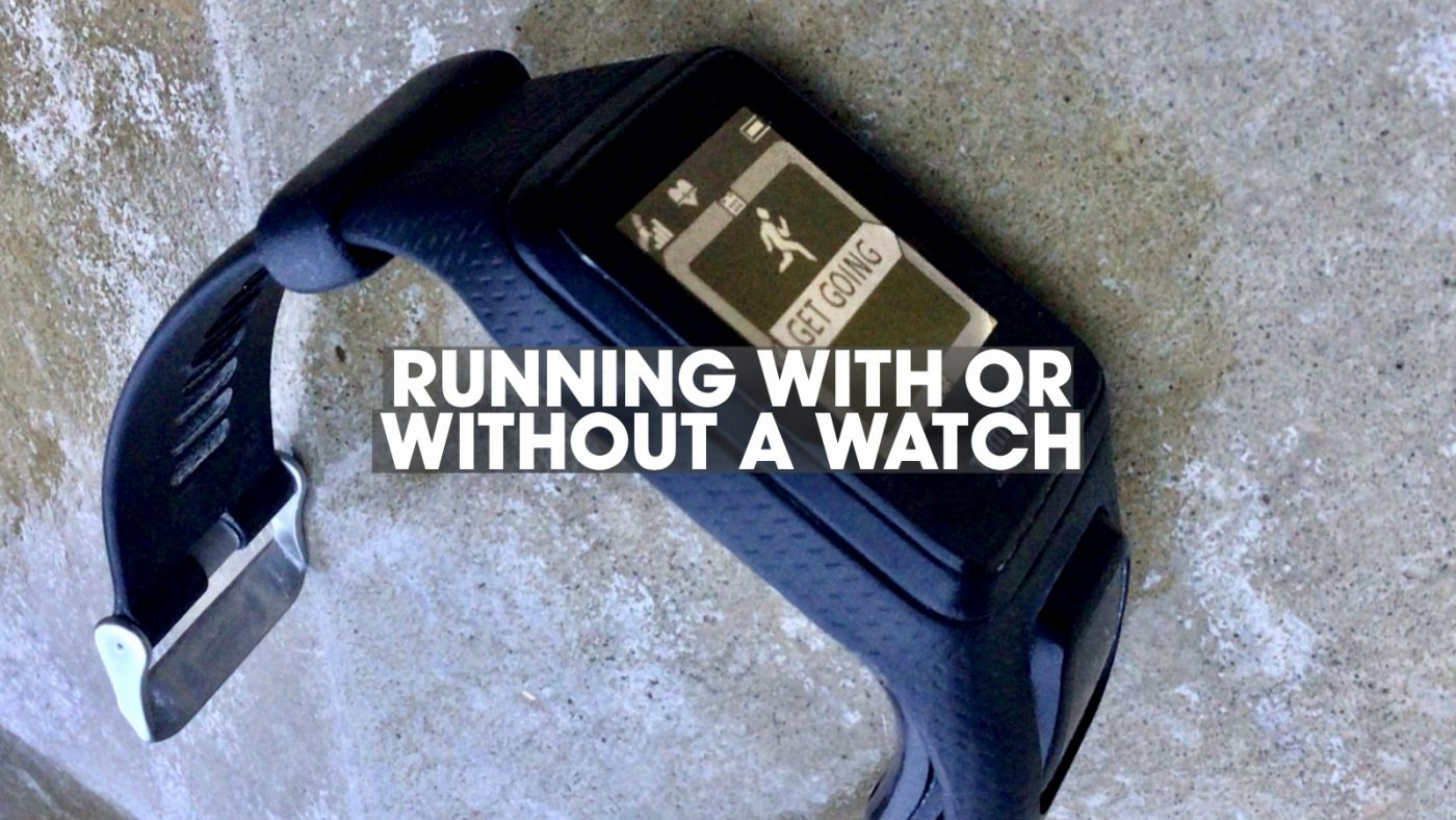 Running with or without a watch header image