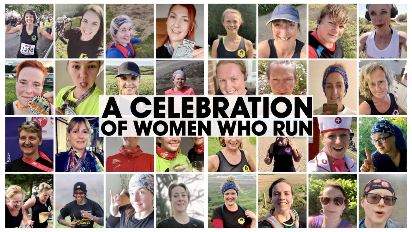 IWD Celebration of Women who Run header