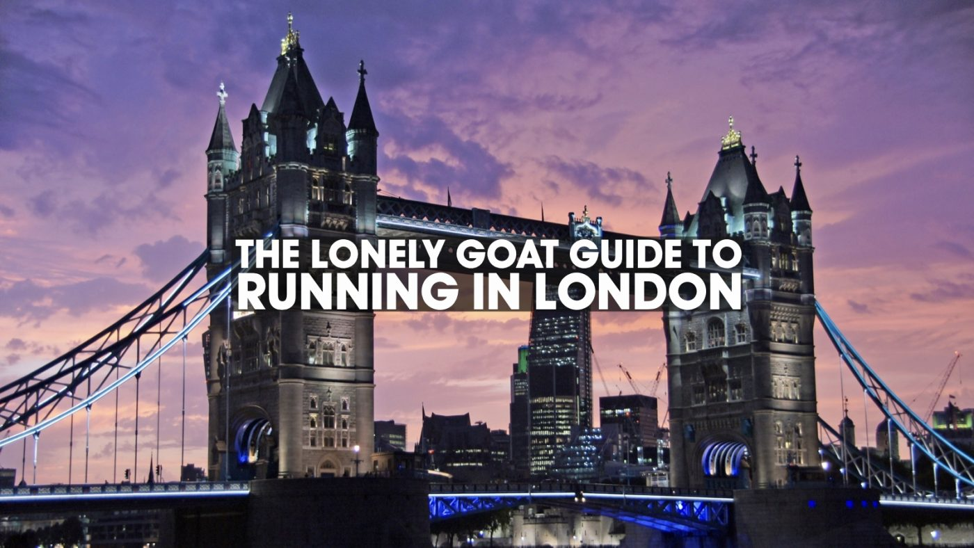 The Lonely Goat Guide to Running in London header image