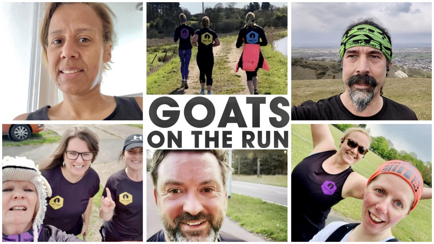 Header image for Goats on the run 30 - Reconnect Through Run edition